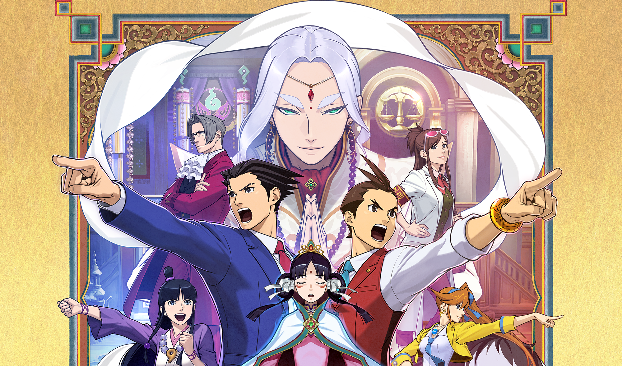 Phoenix Wright Ace Attorney Spirit Of Justice Review Polygon