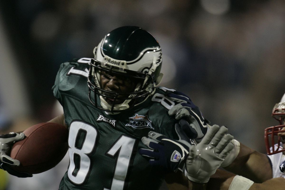 new products 05d38 d64f3 Super Bowl memories: Terrell Owens' heroic game in Eagles vs ...