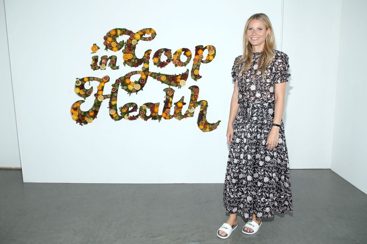 Gwyneth Paltrow's Goop celebrated 10 years at dinner at Chucs in London