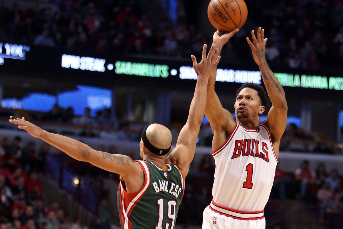 Bucks Vs Bulls Final Score Derrick Rose And Jimmy Butler Wear Down Punchless