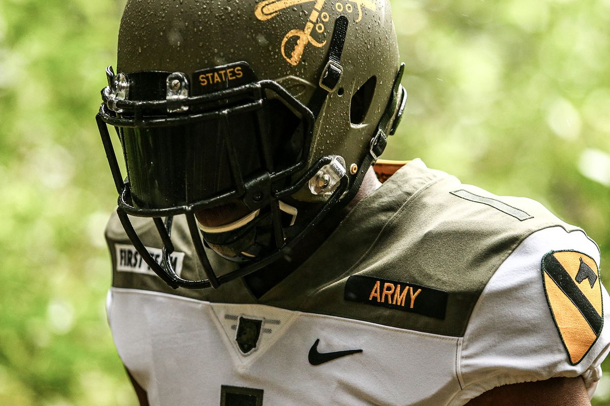 Army West Point Football Reveals 1st Cavalry Division