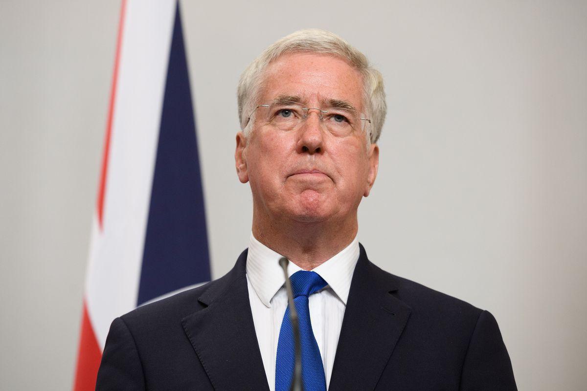 Boris Johnson And Sir Michael Fallon Meet Polish Counterparts