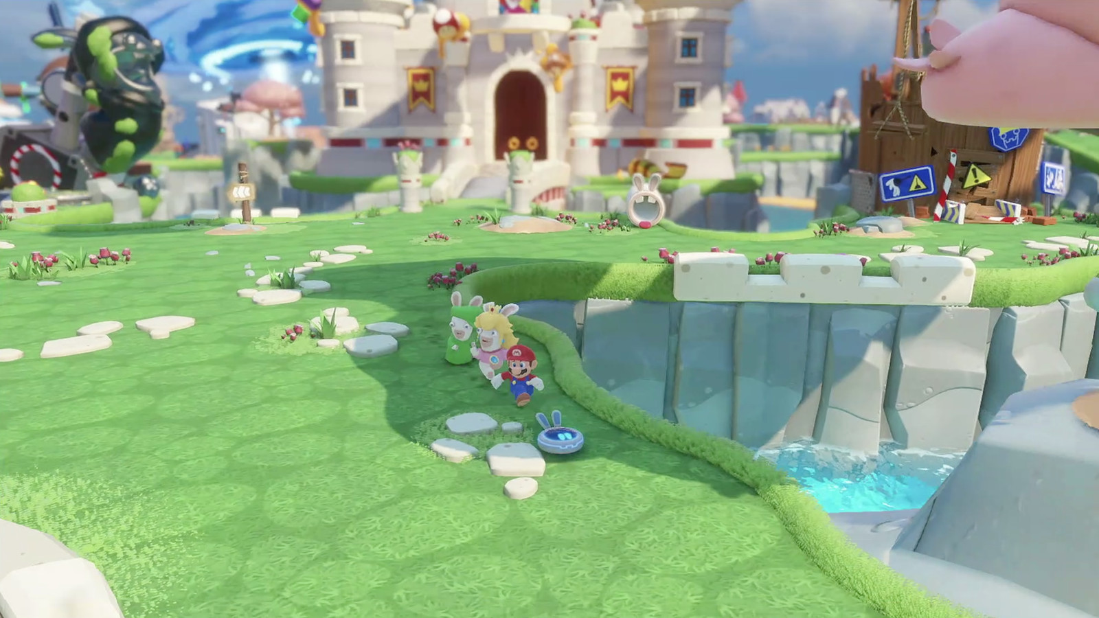 Here Is Our First Look At Mario Rabbids Kingdom Battle