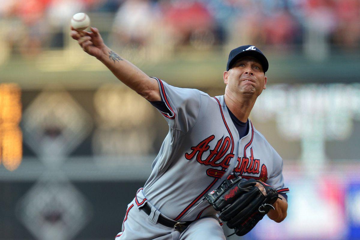 Hudson was impressive in shutting out Philadelphia for seven innings.