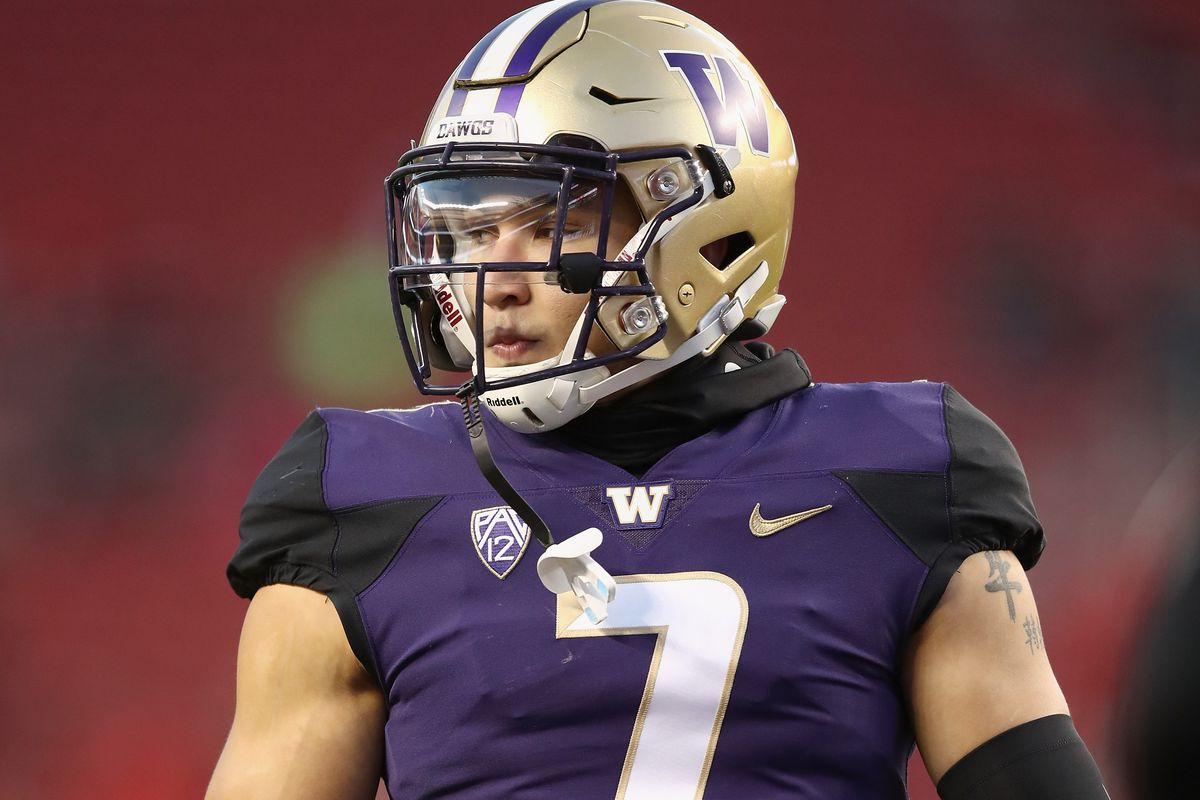 Washington Huskies Football Interview with Taylor Rapp before NFL draft
