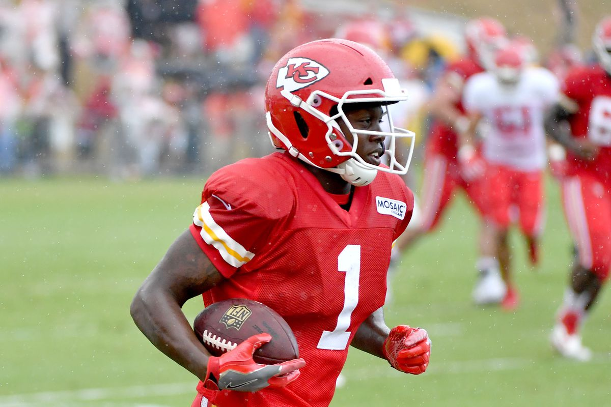 "Chiefs WR Byron Pringle is Kansas City's ""surprise offseason"