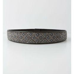 "<b>Anthropologie</b> Diamante Beaded Belt, <a href=""http://www.anthropologie.com/anthro/product/accessories-belts/25616863.jsp#"">$58</a>"