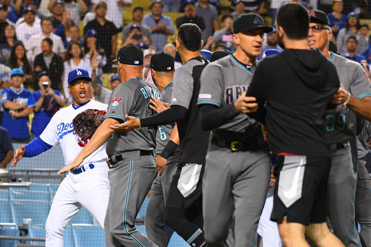 MLB: AUG 09 Diamondbacks at Dodgers