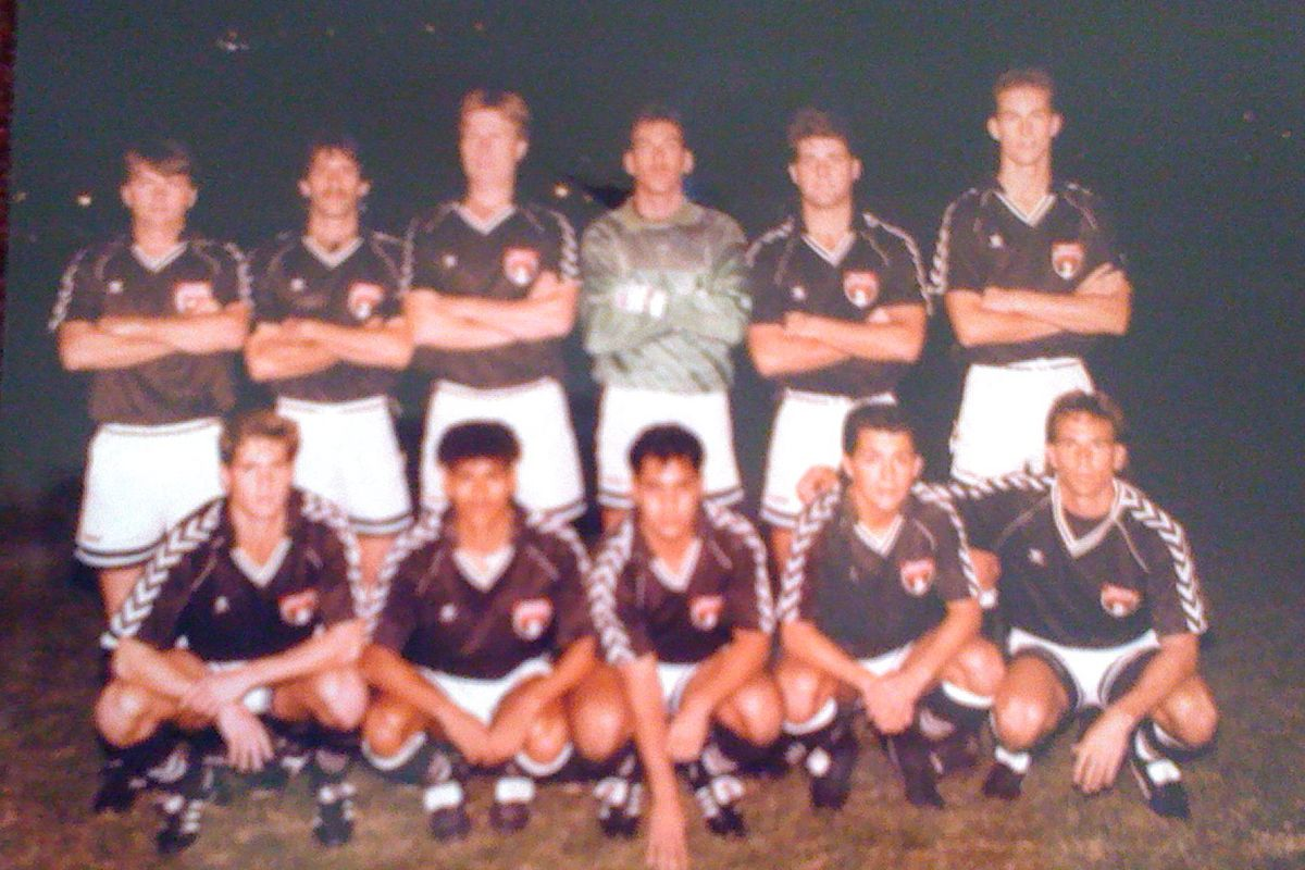 The Orlando Lions team that took on German giants, Bayer Leverkusen