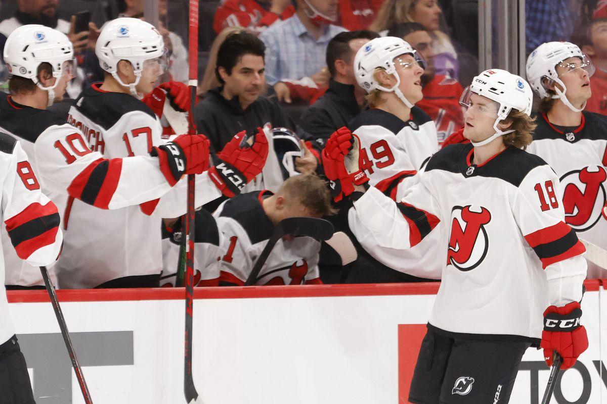 NHL: Preseason-New Jersey Devils at Washington Capitals