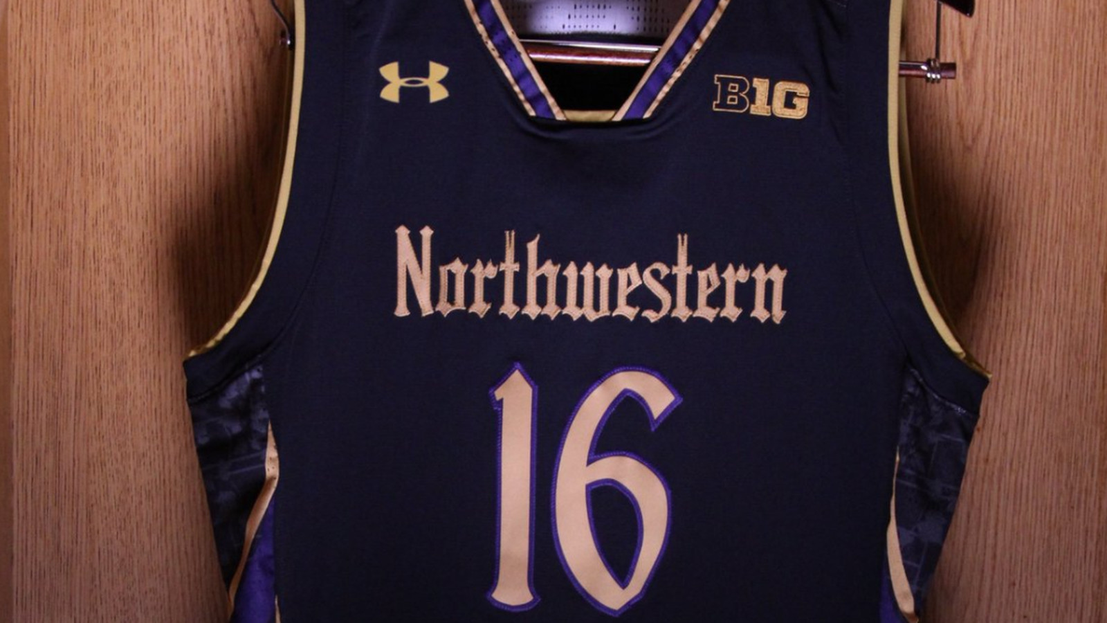 huge discount 78c9a 4bb41 Northwestern to debut gothic basketball uniform versus ...