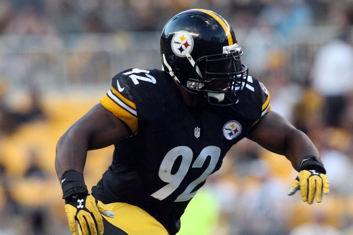 6a84580ccd4 Steelers LB James Harrison