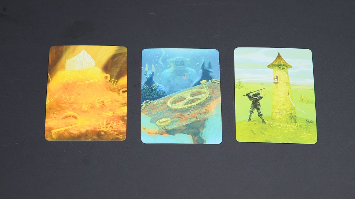 Vision cards from Mysterium