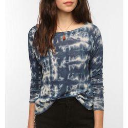"<b>Sparkle & Fade</b> Lightweight Linen Tie-Dye Sweater in blue, <a href=""http://www.urbanoutfitters.com/urban/catalog/productdetail.jsp?id=26319236&parentid=W_APP_SWEATERS&color=040#"">$49</a> at Urban Outfitters"