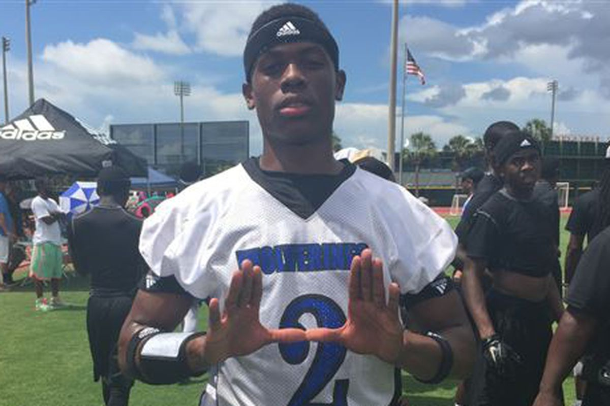 Big visit this weekend for Wellington WR Ahmmon Richards