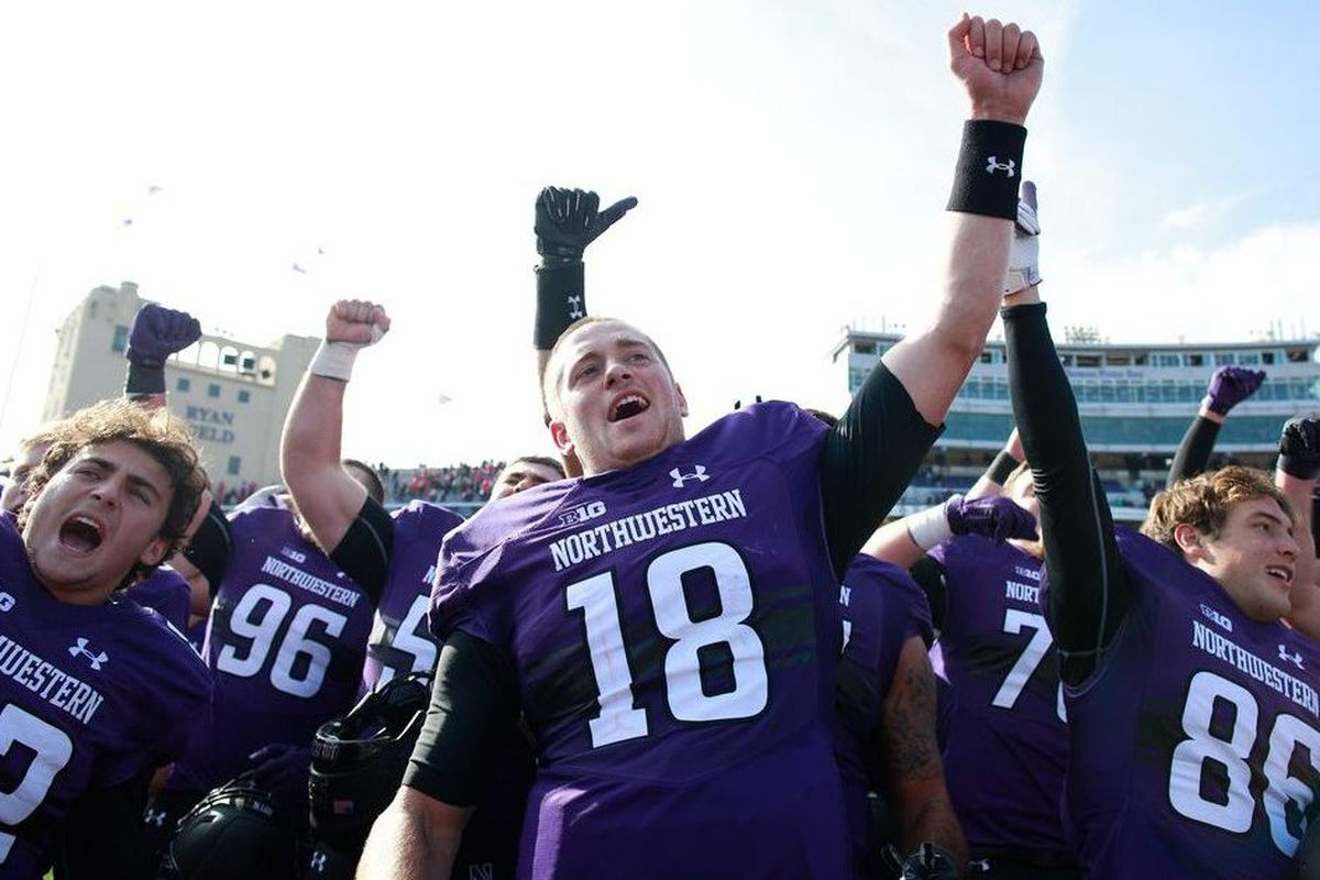 2df522a7b Pat Fitzgerald — next leader of the Pack? — and Northwestern set to take on  Utah