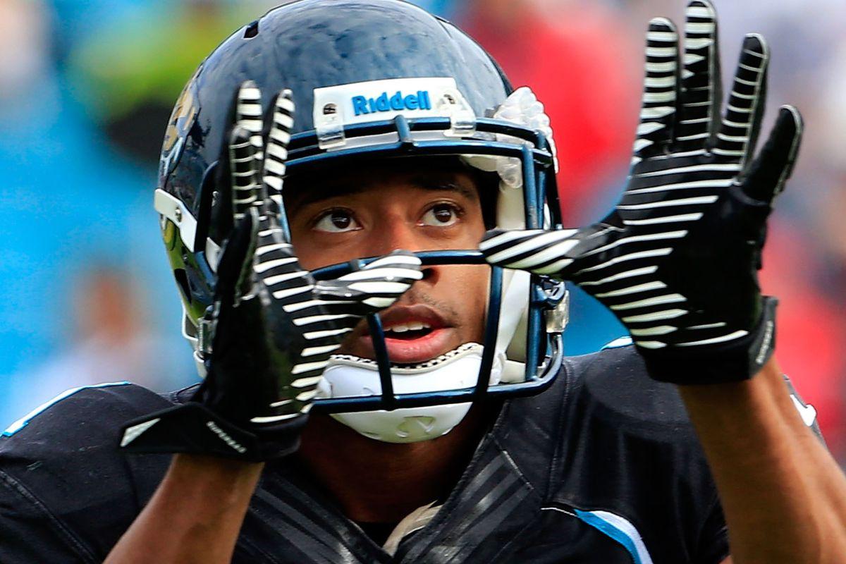 Derek Cox of the Jacksonville Jaguars