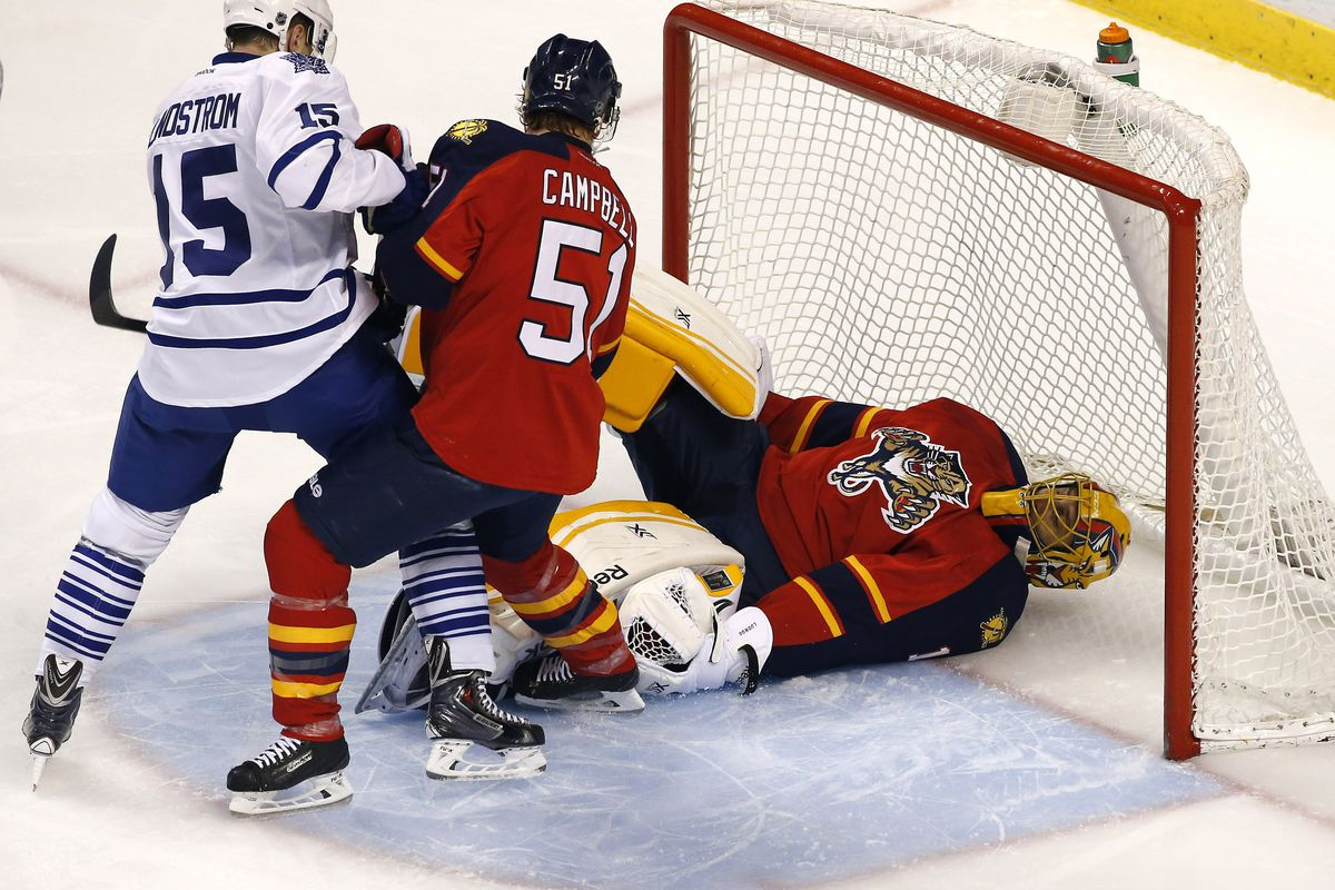 Remember that game where we broke all the Panthers goalies?