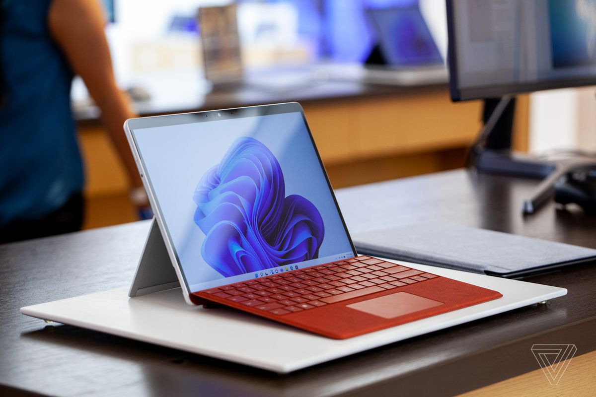 The Surface Pro 8