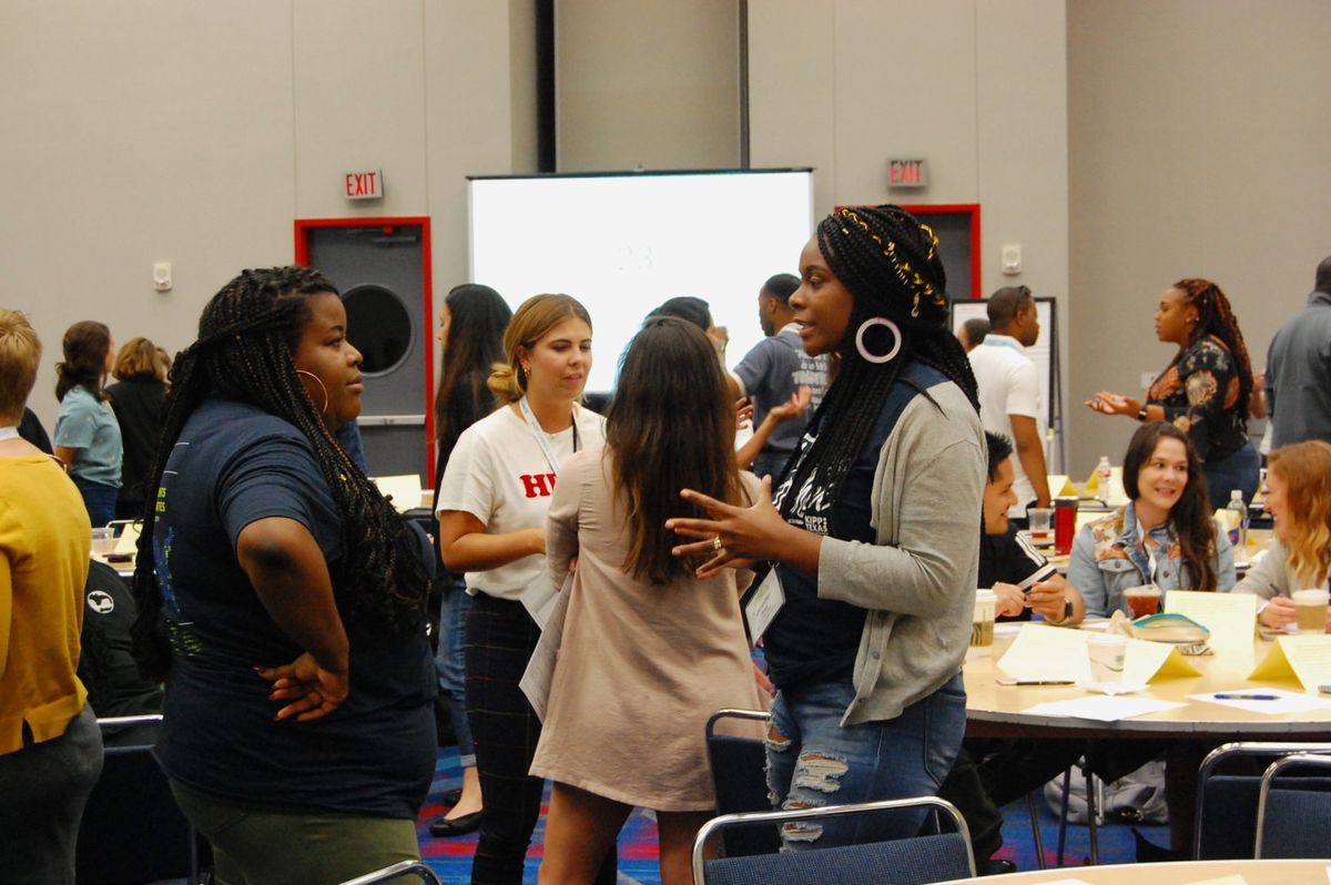 Dozens of educators attended at panel at KIPP's annual summit this week on race and student discipline.