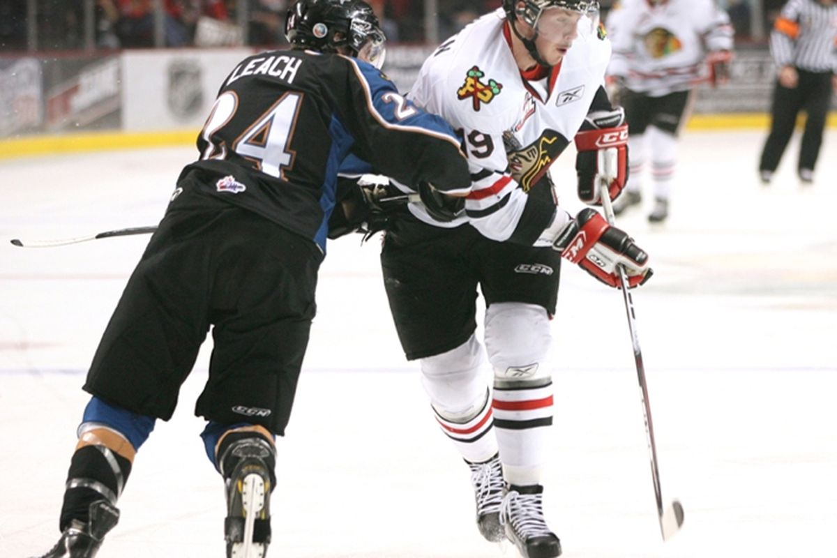 "Ryan Johansen in Game 1 of the WHL Championship Series vs. Kootenay - Photo Credit: Bryan Heim via <a href=""http://www.whl.ca"" target=""new"">www.whl.ca</a>"