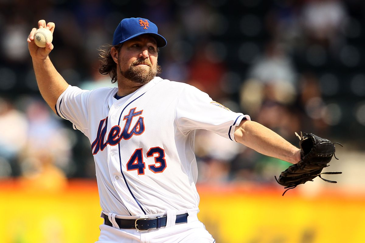 93e31f9f7 Trade Retrospective  Mets trade R.A. Dickey to the Blue Jays for Travis  d Arnaud and Noah Syndergaard