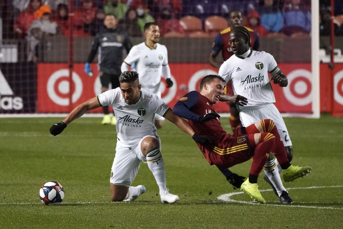 Portland Timbers show up late in 2-1 playoff loss to Real Salt Lake