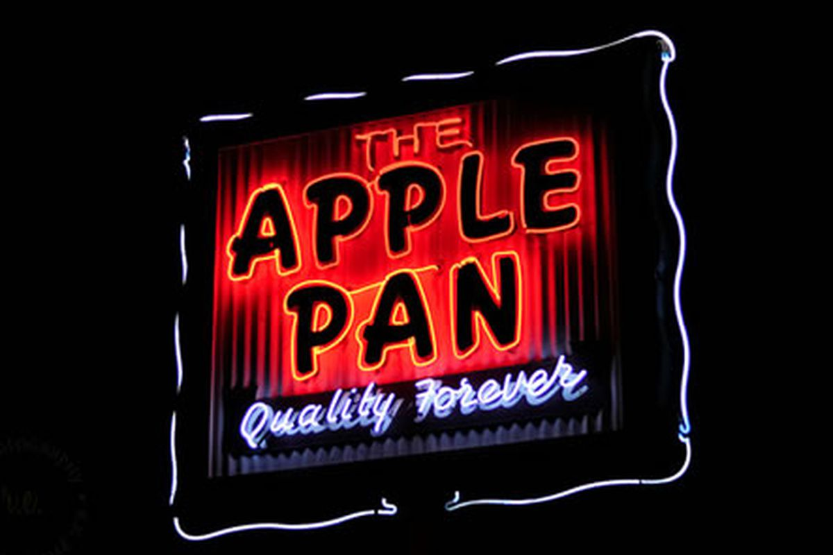The Apple Pan, LA