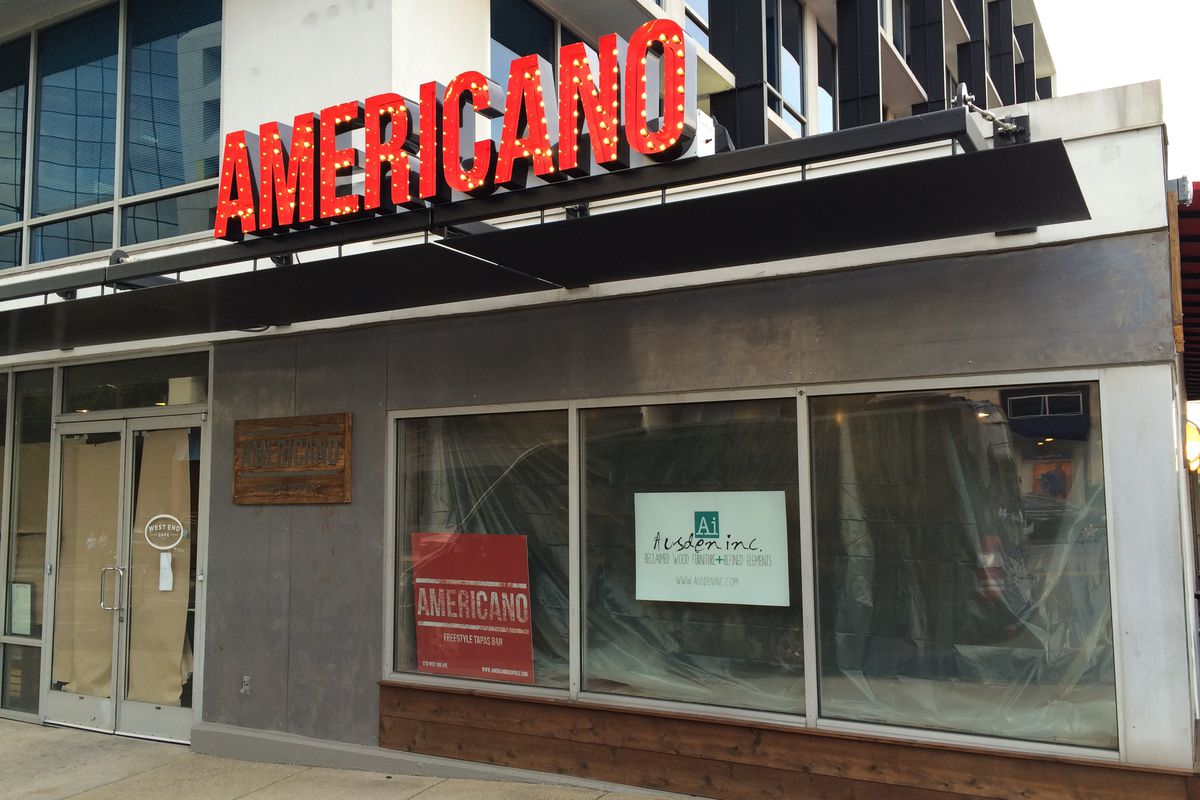 West end tapas bar americano soft opens this friday for Bar americano nyc