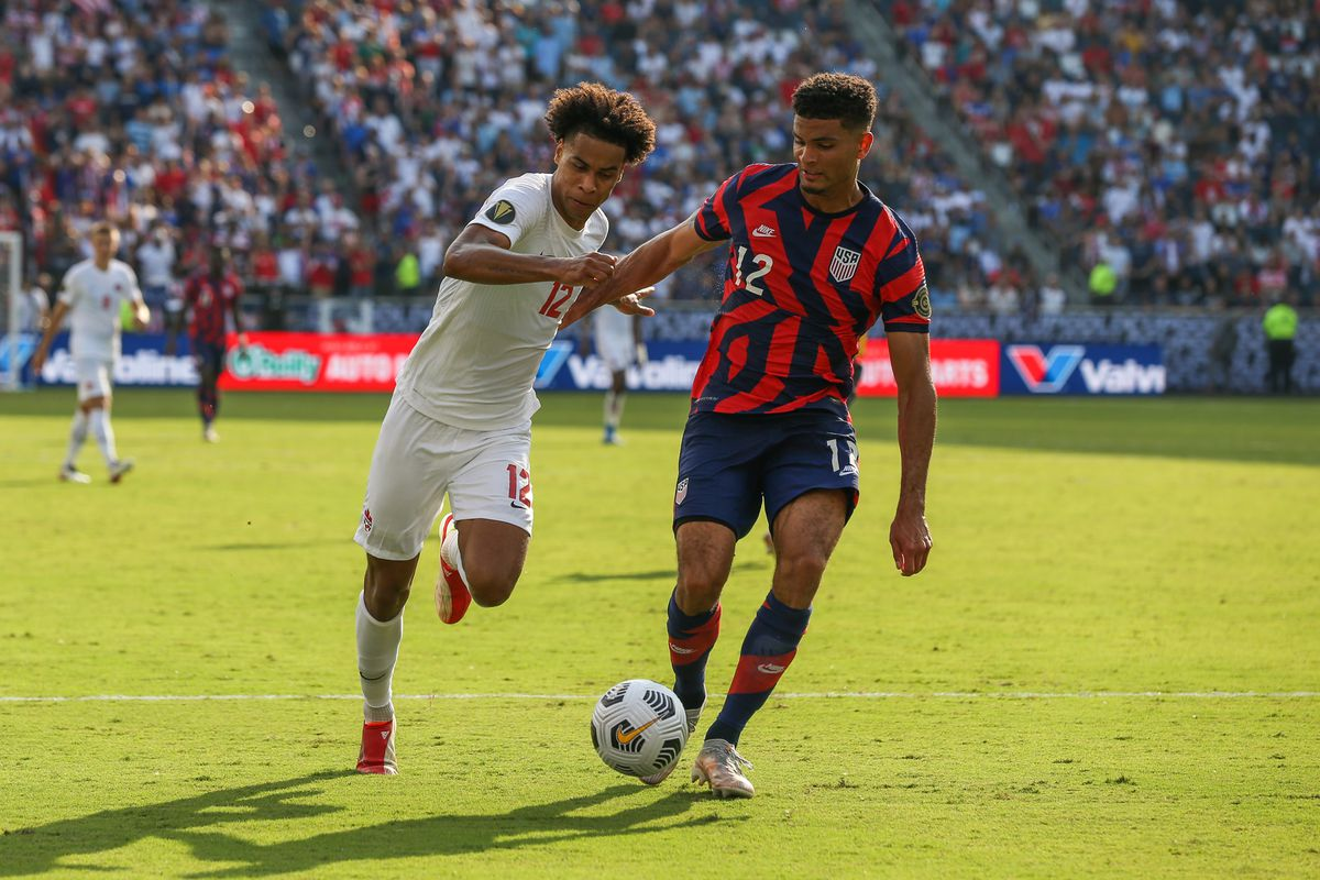 SOCCER: JUL 18 Concacaf Gold Cup - USA v Canada