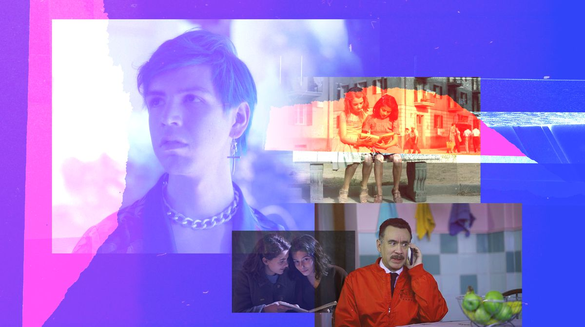 Collage of images from non-English-language TV shows