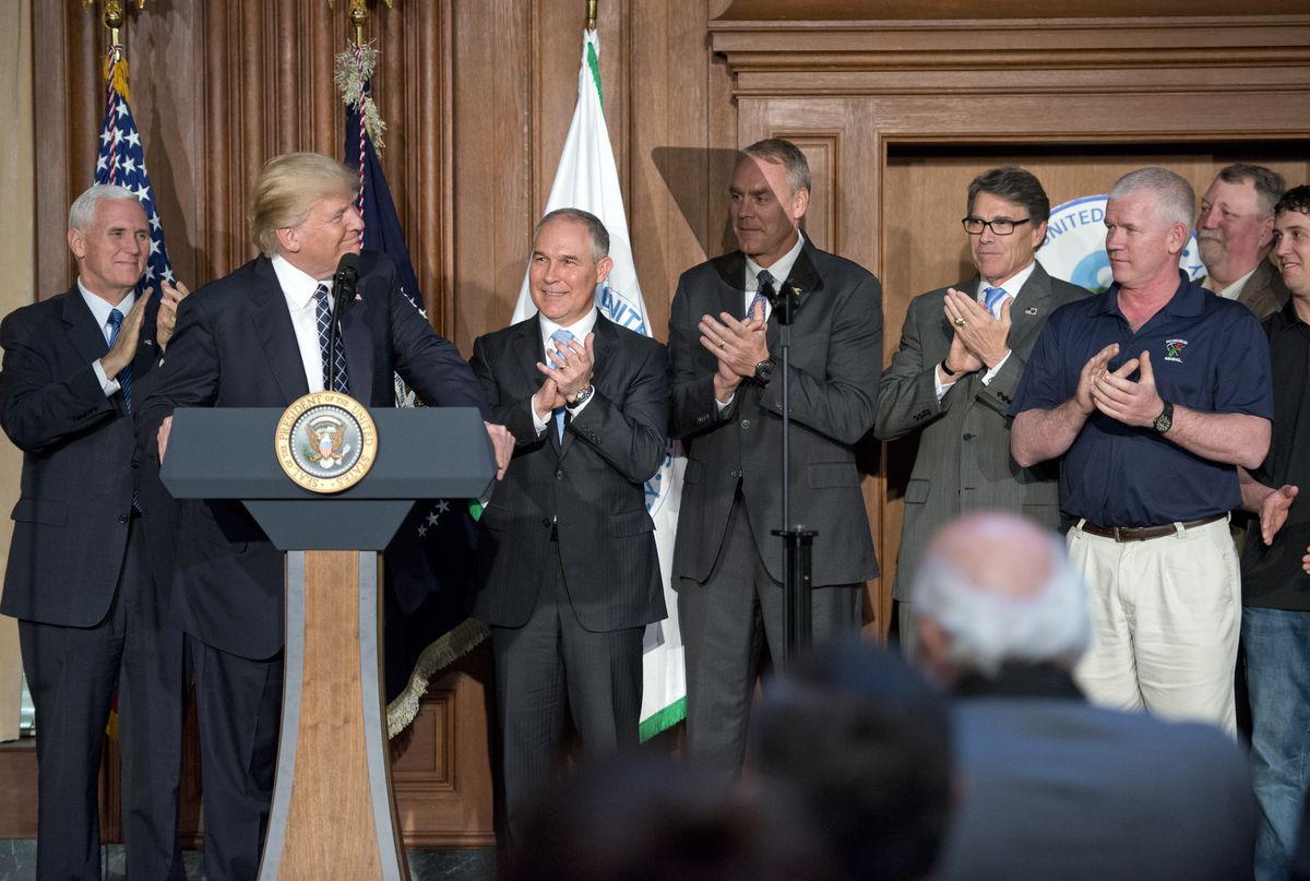 President Trump Signs Energy Independence Executive Order