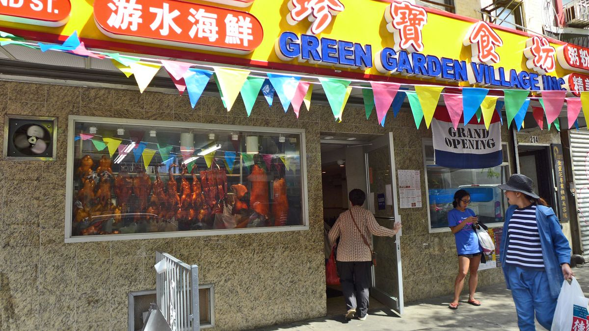 Nyc Cantonese Restaurant Farmers And Green Garden Village