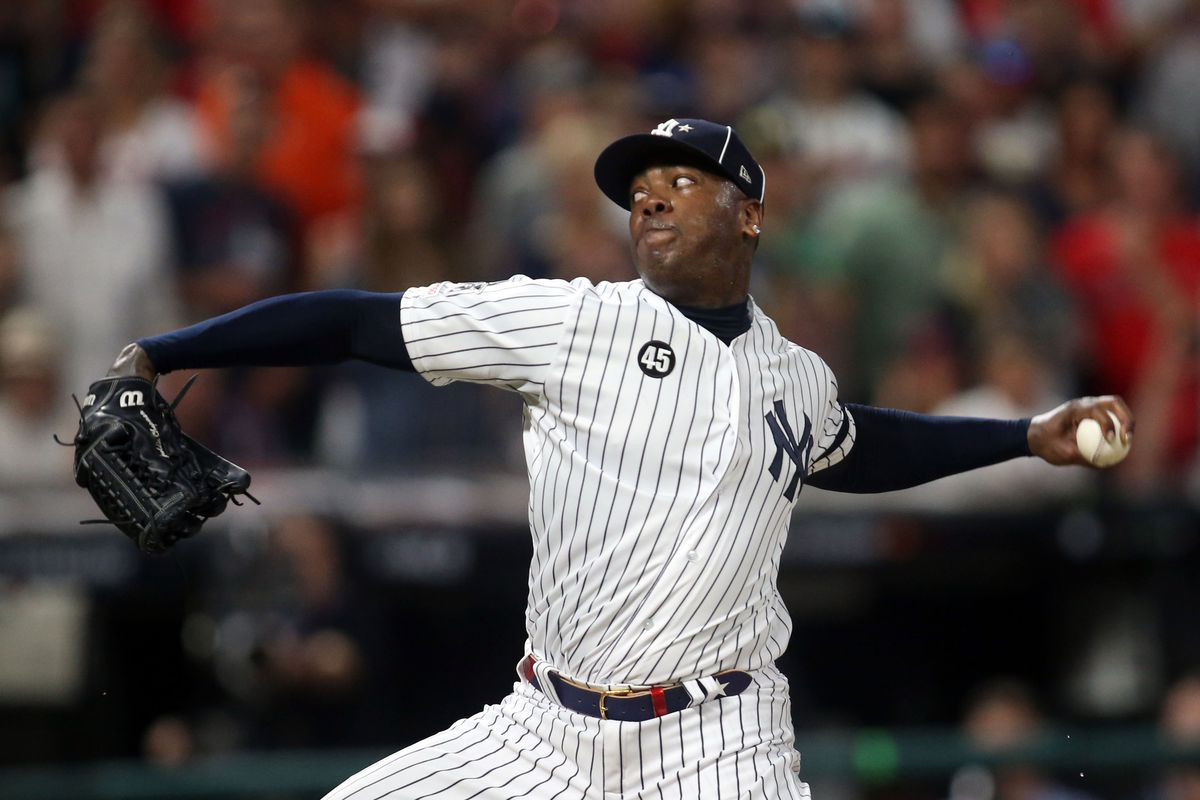 Aroldis Chapman has bucked the trend for the Yankees