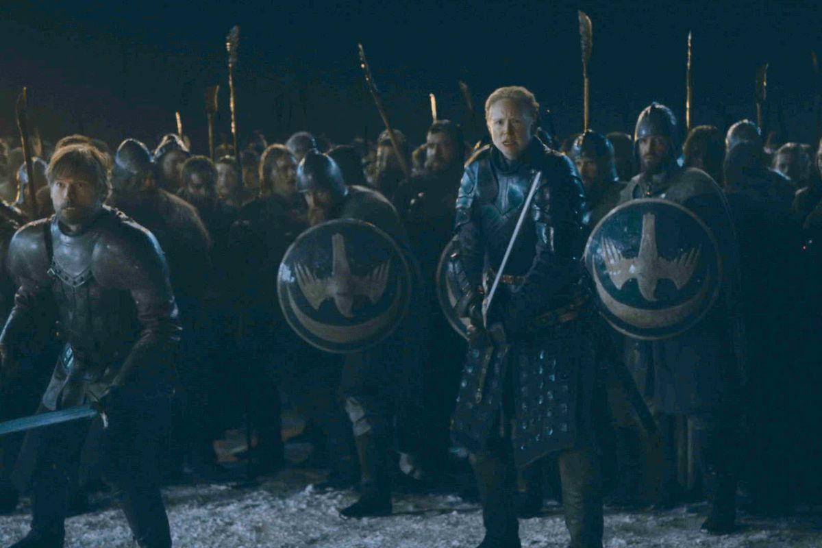 battle of winterfell - game of thrones