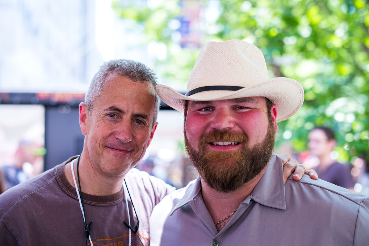 Danny Meyer and Jean-Paul Bourgeois