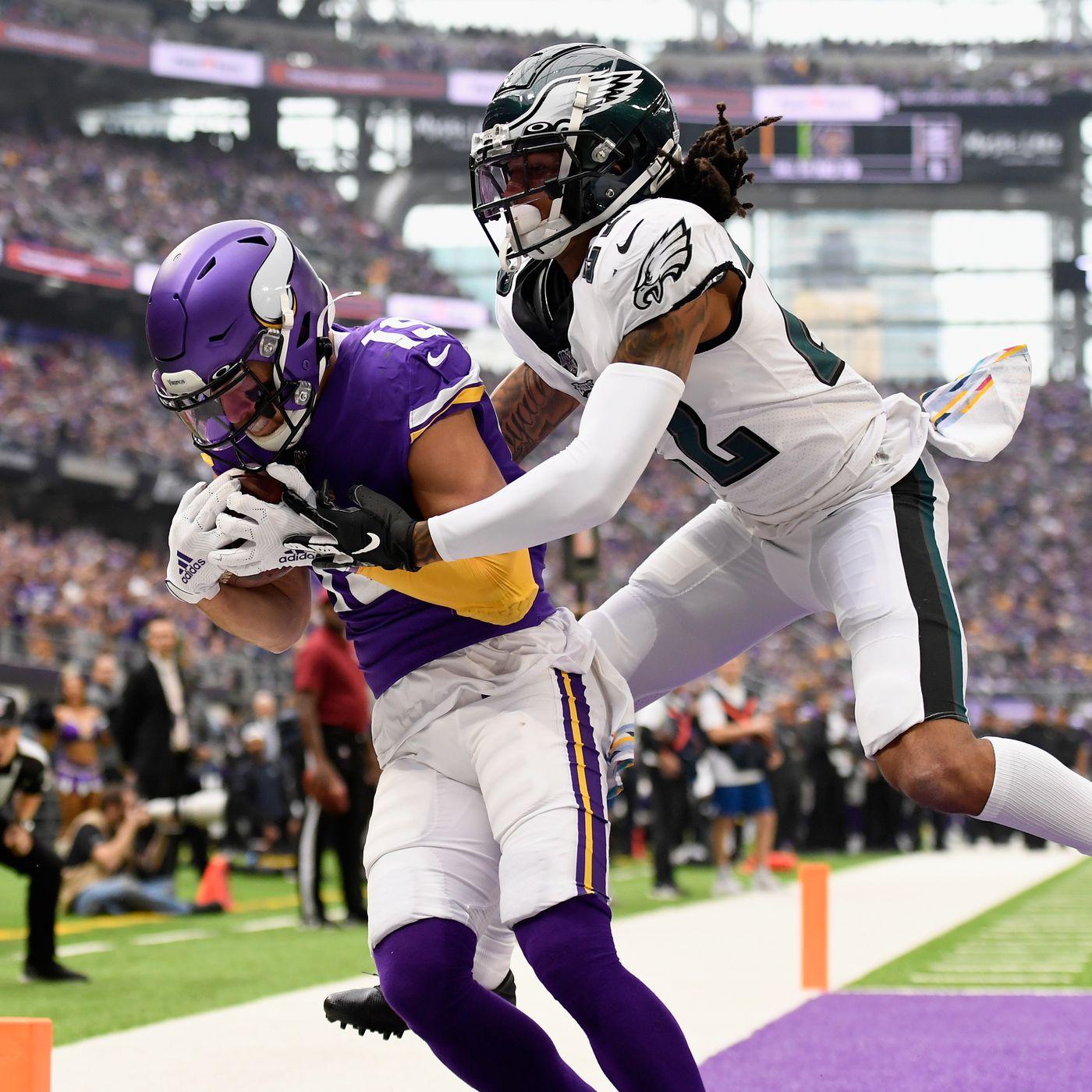 Eagles Vs Vikings Final Score Philadelphia S Secondary Struggles In Loss To Minnesota 38 20 Bleeding Green Nation