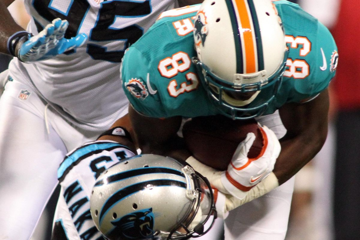 Miami Dolphins wide receiver Jeff Fuller's performance this week is just one of many that could clarify the wide out postion battle for the Dolphins.  Then again, it could muddy it up as well.