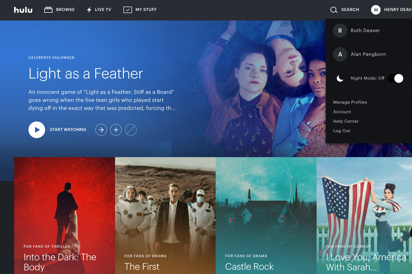 hulu plans to move some channels from its live tv service back to on demand