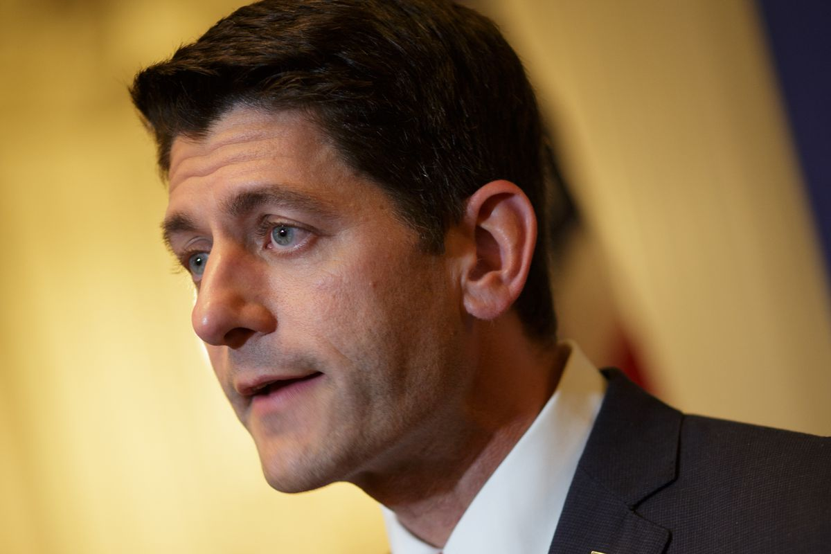 U.S. Rep. Paul Ryan (R-WI) speaks during a press conference at the Union League Club of Chicago August 21, 2014 in Chicago, Ilinois