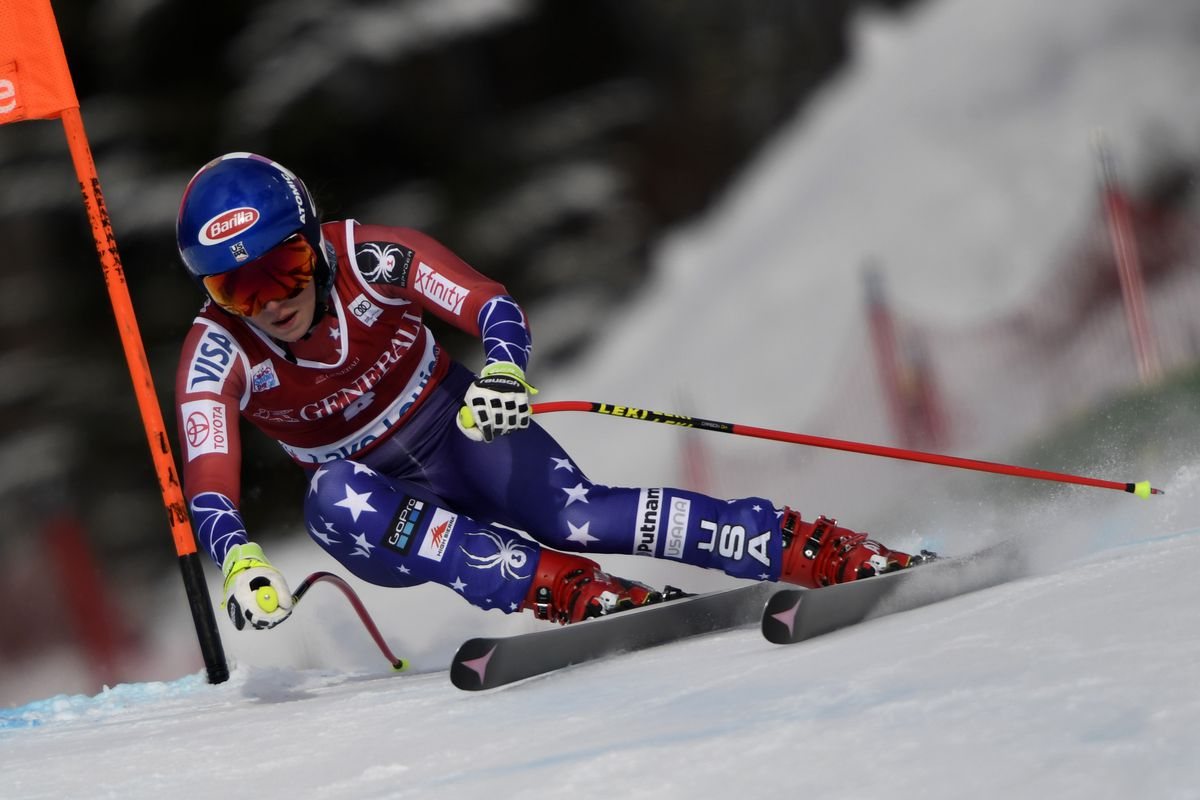 Mikaela Shiffrin Dominates Second Giant Slalom Run, Takes Home Gold