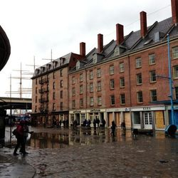 """More from Lock: """"The Fulton Mall. All of this was under at least five feet of water at peak of storm."""""""