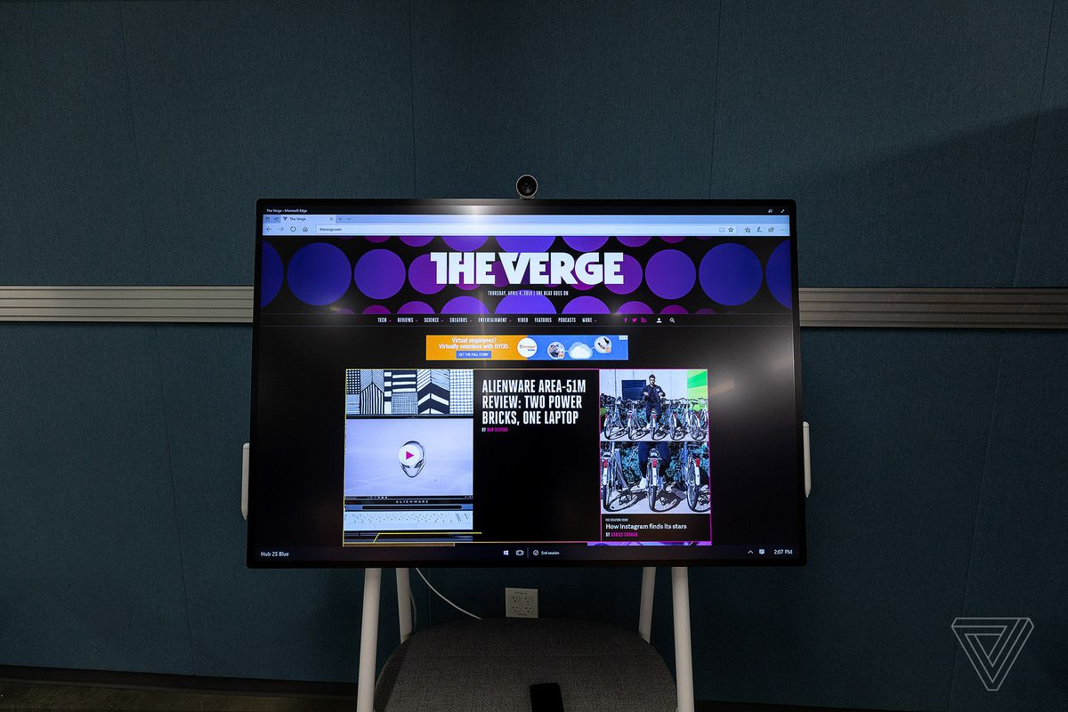 Microsoft's Surface Hub 2 hands-on: a collaborative PC for