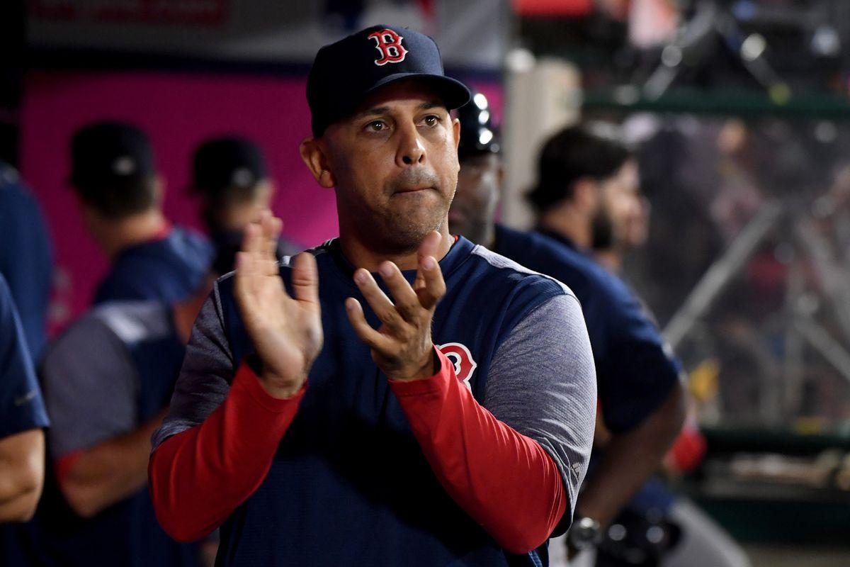 Los Angeles Angels v. Boston Red Sox