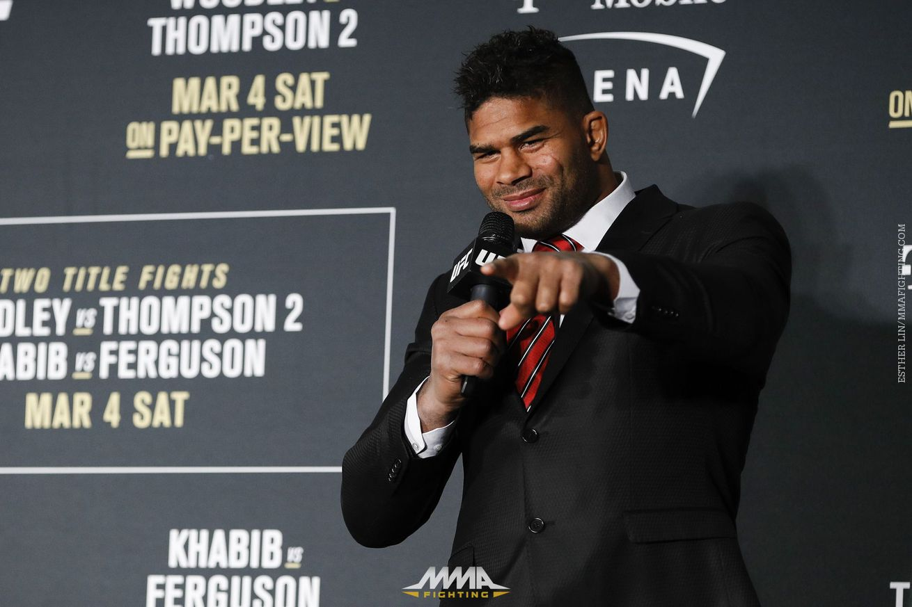 community news, Alistair Overeem responds to Mark Hunt's accusations: 'I've shown to the world that I'm the better fighter'