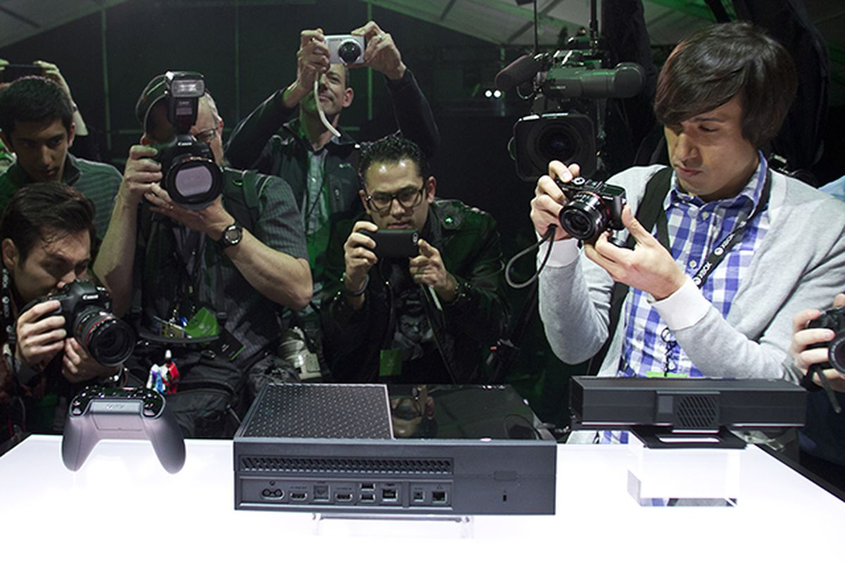 Xbox One reveal (MS stock)
