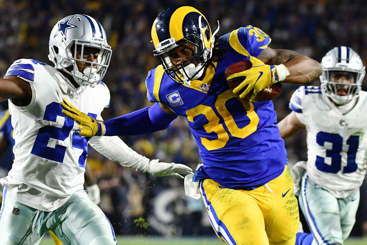 c8aa444c8 NFL playoffs 2019  The Rams can ride their run game to the Super Bowl -  SBNation.com