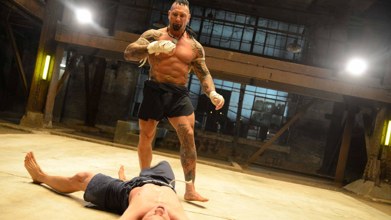 Pic: First look at Dave Bautista fighting as 'Tong Po' in ...