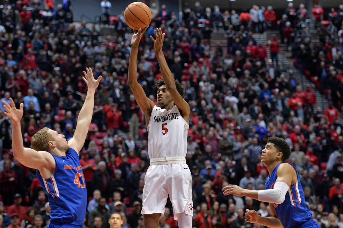 NCAA Basketball: Boise State at San Diego State