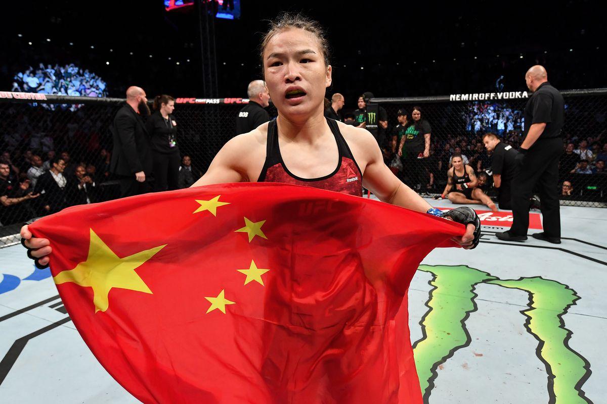 UFC Fight Night Shenzhen: Andrade v Zhang